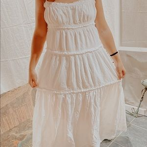 Juicy Couture White Long Dress
